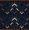 abstract art deco seamless pattern 14 vector image vector image