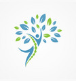 people tree vector image