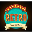 Retro vintage banner eps 10 high quality vector image vector image