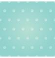 vintage pastel pink baboy polka dots vector image