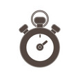 stopwatch isolated icon vector image