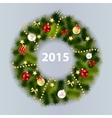 Abstract Beauty 2015 New Year Background vector image vector image