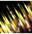 abstract glowing disco background vector image vector image