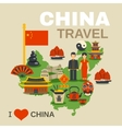 Chinese Culture Traditions Travel Agency Poster