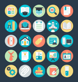 Education Colored Icons 4 vector image vector image