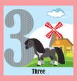flat animal numbers 3
