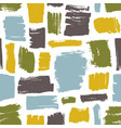 modern seamless pattern with blue green yellow vector image vector image
