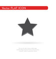 star icon for web business finance and vector image vector image