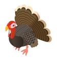 Turkey icon cartoon style vector image vector image