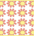 flowers plants bacround icon vector image