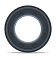 side view car tire icon vector image vector image