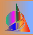 abstract shapes vector image