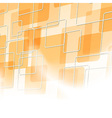 Abstract orange tile particle background vector image vector image