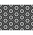 black and white seamless pattern assembled from vector image