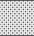 black dense big and small rhombus dots pattern on vector image vector image