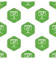 Graphic presentation pattern vector image vector image