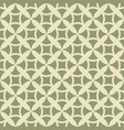 green geometric grid seamless pattern vector image vector image