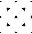 human neck pattern seamless black vector image vector image