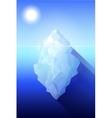 iceberg Antarctica vector image