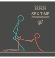 Kamasutra man and woman sex xxx vector image vector image