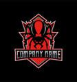 redbacks esport logo vector image vector image