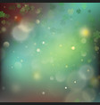 abstract bokeh blur template with - trifolium vector image vector image