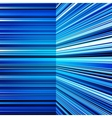 Abstract warped blue stripes colorful background vector image vector image