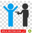 Children Crime Eps Icon vector image vector image