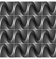 Design seamless wave geometric pattern vector image vector image