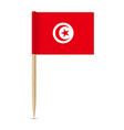 Flag tunisia flag toothpick 10eps