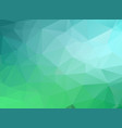 green gradient background abstract triangles vector image