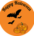 Happy haloween vector image vector image