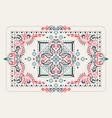 rectangular bandana print design for rug carpet