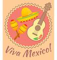 Viva mexico vector image