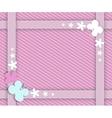 pink frame for girls vector image