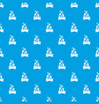 campfire pattern seamless blue vector image vector image
