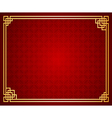 Chinese Template2 vector image vector image