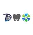 dental care template set vector image