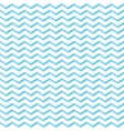 geometric seamless wave pattern vector image vector image