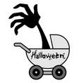 halloween baby vector image vector image