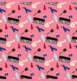 make up pattern vector image