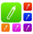 marker set color collection vector image vector image
