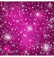 Seamless purple christmas pattern vector image vector image
