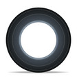 side view vehicle tire icon vector image vector image