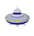 space objects astronautics science flying saucer vector image vector image