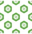 Basketball pattern vector image vector image