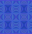 blue seamless abstract psychedelic spiral ray vector image vector image