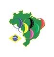 brasilia sport 2016 vector image vector image