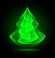 Fraktal NG tree 05 vector image vector image