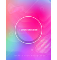 liquid color covers set fluid shapes composition vector image